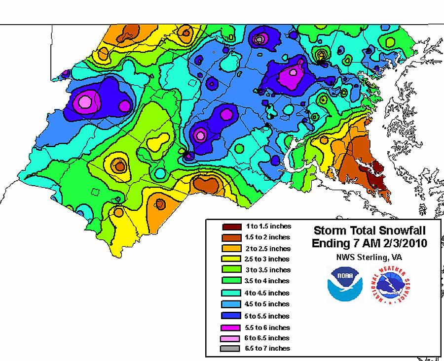 Jpg - Average snowfall map us