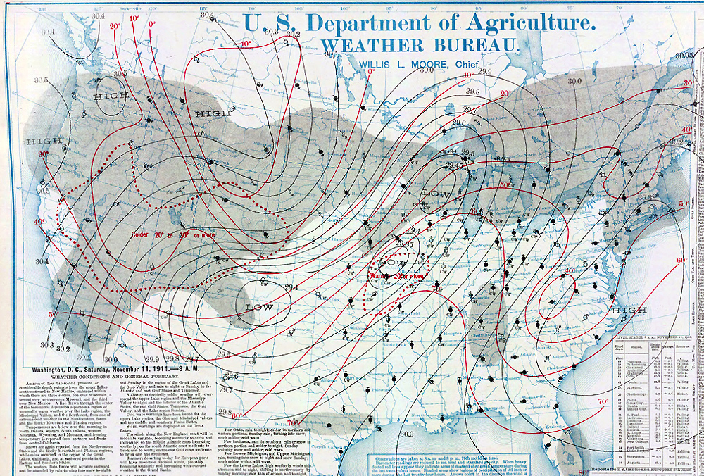 NOVEMBER Weather History