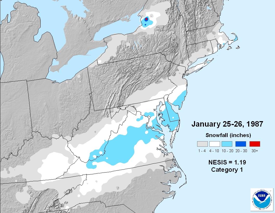 January Weather History