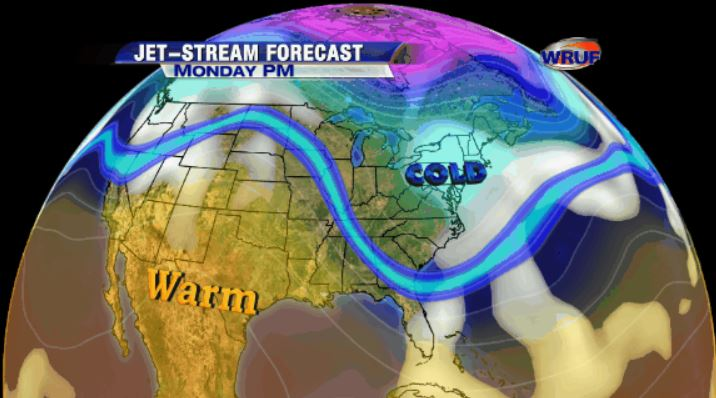 JET STREAM FORECAST-EDUCATION & Animations Maps