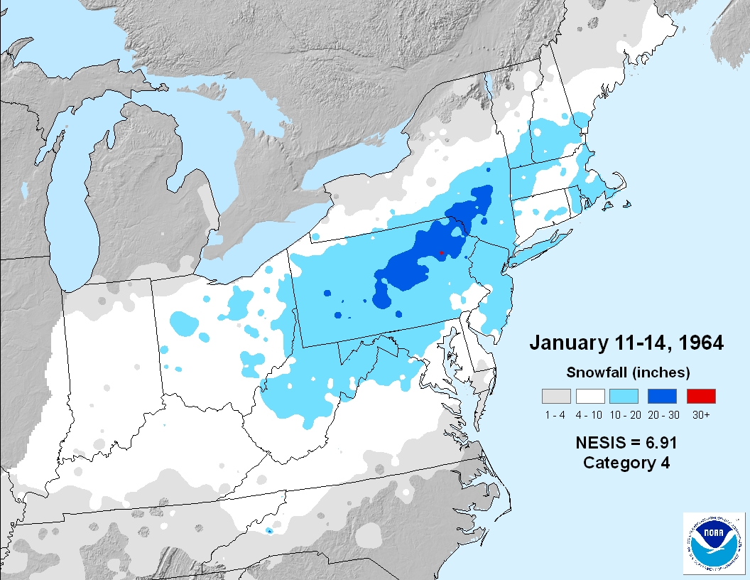 January Weather History